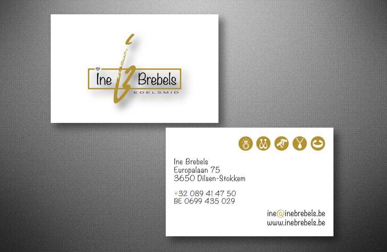 Naamkaartje Ine Brebels